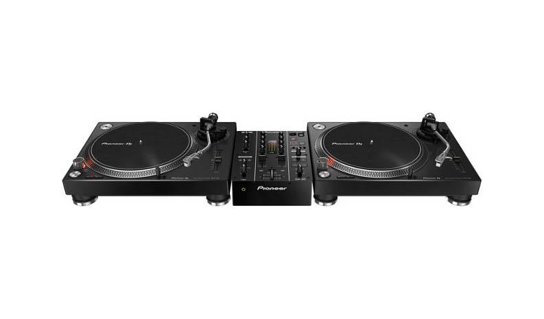 Pioneer PLX 500 draaitafel set