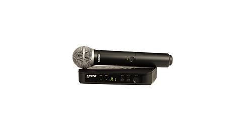 Shure BLX24/SM58 draadloze microfoon met ontvanger