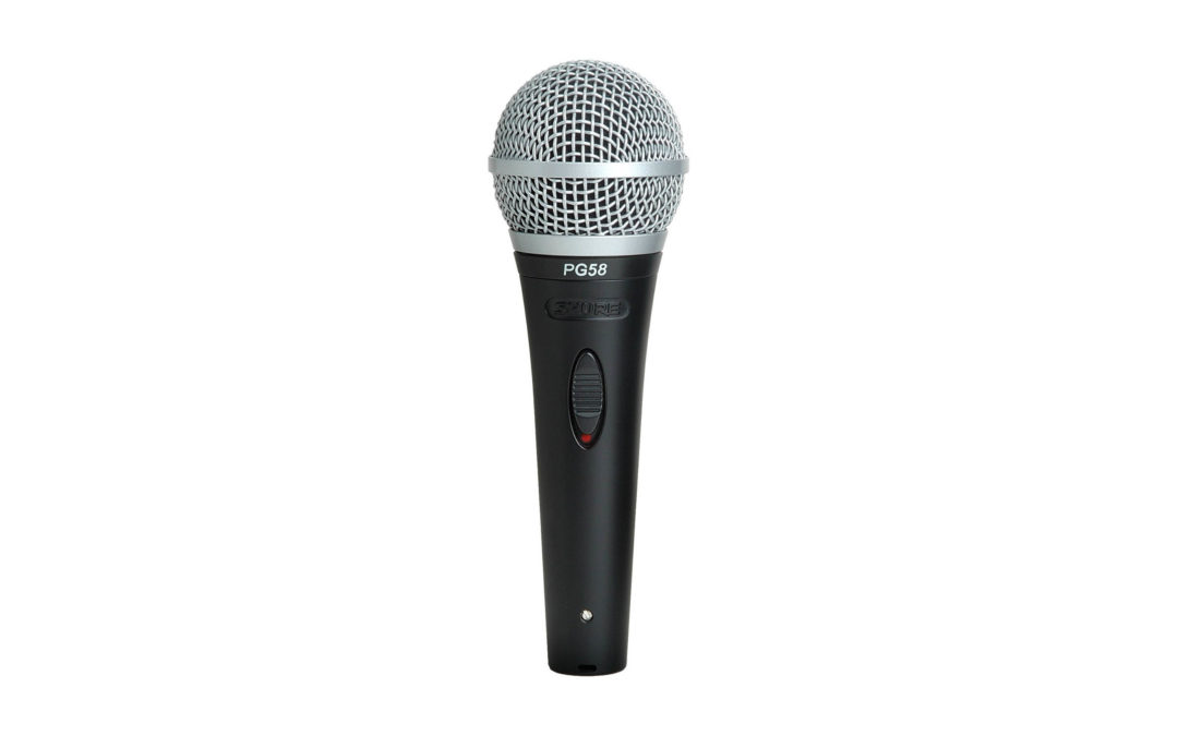 Shure SM58 dynamische microfoon