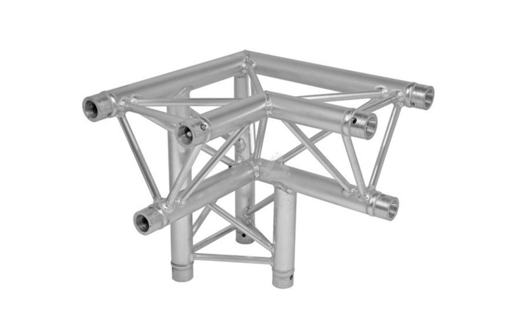 Prolyte x30d-c013 driehoek truss 3-weg hoek links down