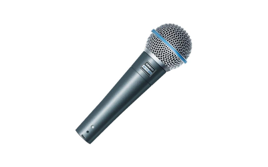 Shure beta 58a dynamische zang microfoon