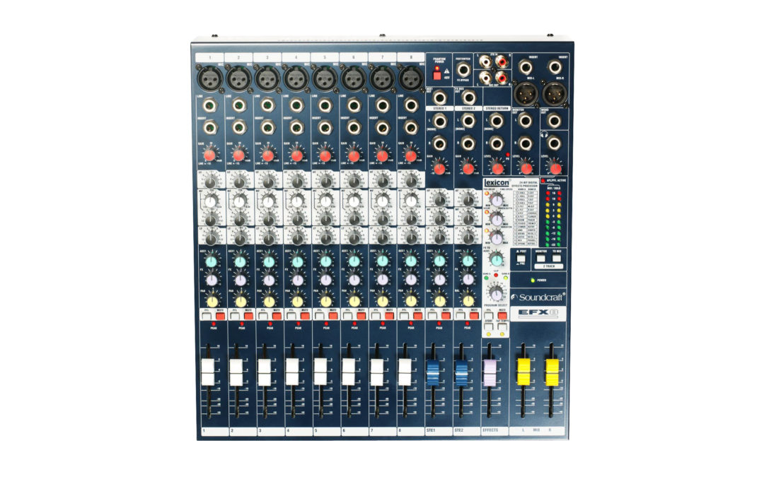 Soundcraft efx8 mengpaneel